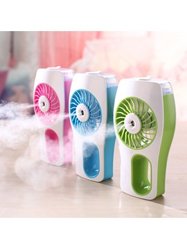 Mini Usb Portable Fan Handheld Cooling Mist Humidifier For Home Office School