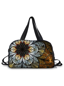 High Capacity Floral Printing Travelling Bag