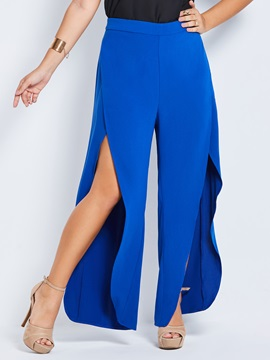 Plus Size Loose Wide Legs Pants