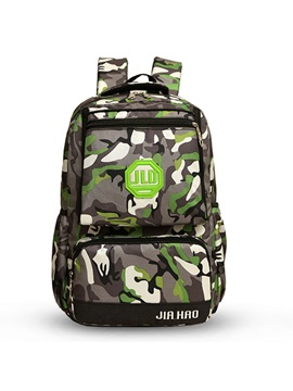 Large Capacity Camouflage Unisex Backpack