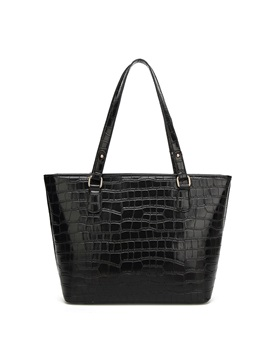 Vogue Croco Embossed Shoulder Bag