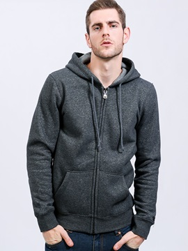 New Zipper Fashion Leisure Mens Hoodies