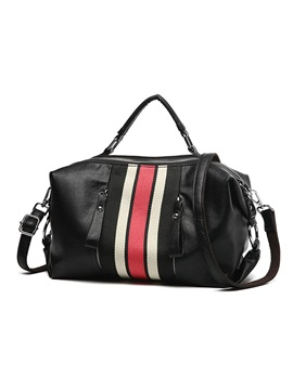 All Match Color Block Pillow Crossbody Bag