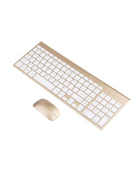 K755 24g Wireless Mouse Wireless Ultra Thin Keyboard