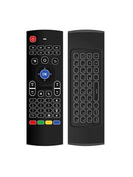 Mx3 B Wireless Air Mouse With Receiver Support Backlight For Android Tv Box