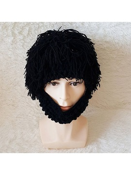 Like Beards Woolen Yarn Handmade Creative Halloween Cosplay Party Hats