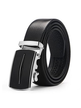 Automatic Buckle Leather Simple Business Mens Belts