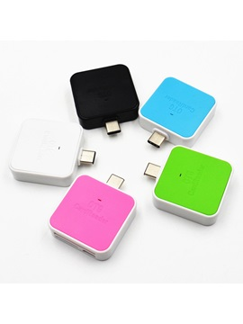 Mini Sd Tf Card Reader Adapter For Type C Port Cellphones