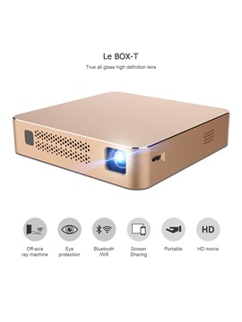 Vze Box T Pico Portable Projector Support 1080p 120 Inch Screen Home Theater