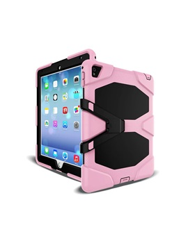 New Ipad 97 2017 Case Silicone Hybrid Impact Resistant Defender Full Body Protective Cover For Ipad 2 3 4 Ipad Air1 2