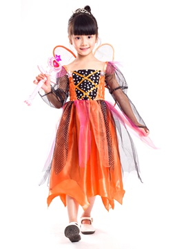 Halloween Fairy Cosplay Party Dress Princess Girls Costume