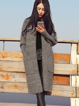 Long Slim Fit Womens Cardigan