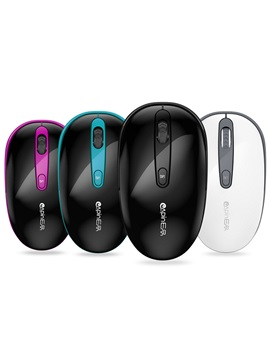 E5 Mini Mouse With 3 Buttons 24ghz 1000dpi Wireless Mice