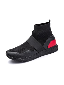 Mesh High Cut Upper Mens Shoes