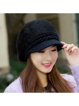 Winter Cashmere Womens Beret Hats