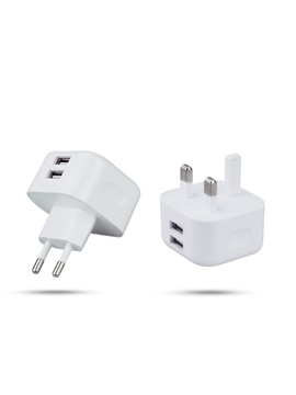 Soulmate St410 Portable Dual Usb Slot Charger Plug For Phones
