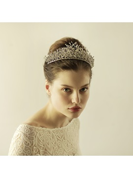 Diamond Stone Wedding Bride Crown Hair Accessories