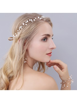 Amazing Imitation Pearl Womens Hair Accessories