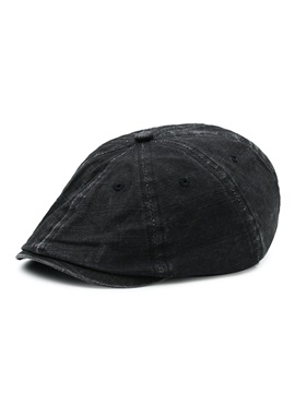 Trendy Soild Color Beret Mens Hat