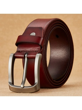 Retro Style Mens Pin Buckle Belt