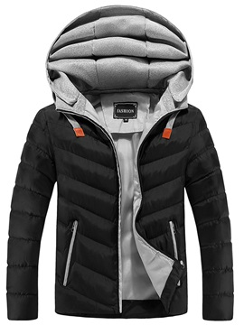 Tidebuy Hooded Warm Mens Winter Jacket