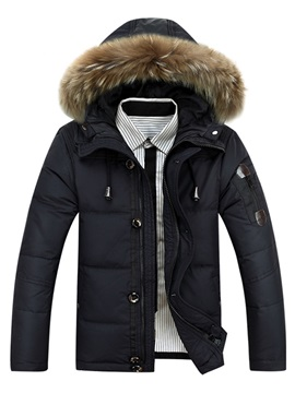 Tidebuy Hooded Thicken Warm Mens Winter Coat