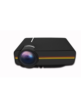 Mini Projector 1080p Support Hdmi Usb Vga Av Sd For Home Theater Uk Plug