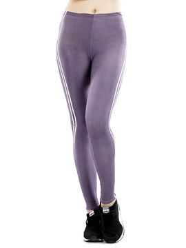 Slim Stripe Womens Sport Leggings