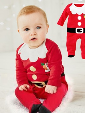 Christmas Lovely Color Block Unisex Jumpsuit