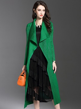 Long Sleeve Regular Winter Trench Coat