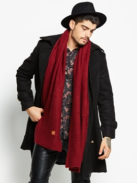 Lapel Black Plain Double Breasted Mens Trench Coat