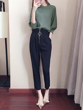 Blouse And Pants Womens Suit