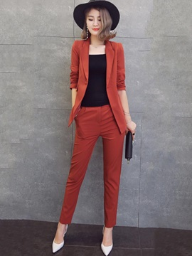 Jacket And Pants Womens Suit