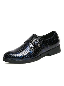 Pu Slip On Low Cut Upper Mens Dress Shoes