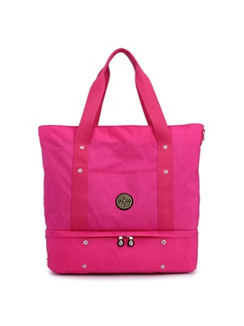 Versatile Women Storage Zipper Tote Bag