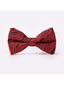 Waves Pattern Wedding Mens Necktie