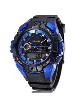 Double Tone Multi Function Sports Mens Digital Watch