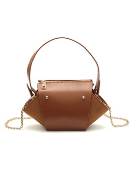 Casual Plain Pu Women Satchel