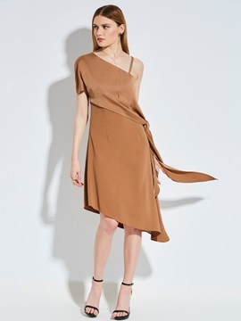 Tidebuy Asymmetric Womens Dress