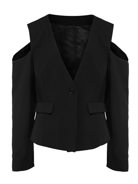 Tidebuy Short Long Open Sleeves Womens Blazer