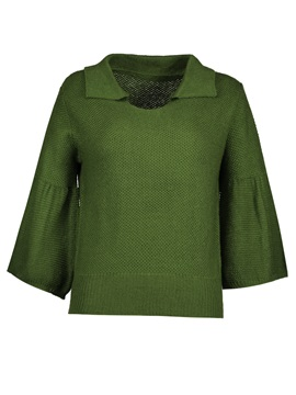 Tidebuy Lapel Womens Sweater