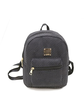 Preppy Chic Pu Backpack
