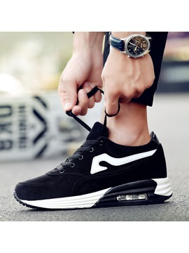 Cloth Lace Up Mid Cut Upper Sneakers