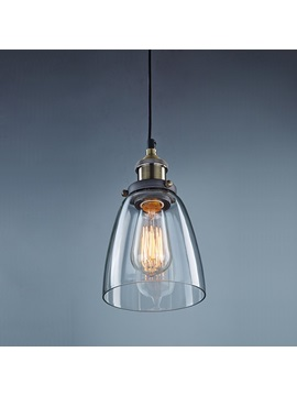 Industrial Mini Pendant Hanging Glass Shade Ceiling Lighting Downlight