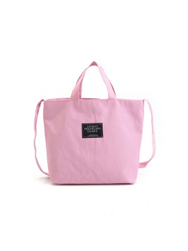 Casual Soft Canvas Shoulder Bag