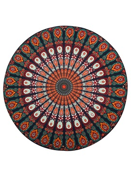 Print Round Beach Towel