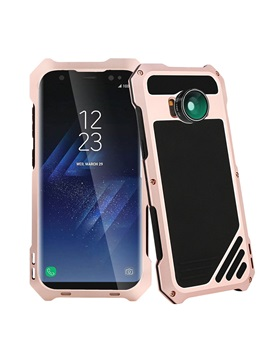 Viking Metal Protective Case With Lens For Samsung S8 S8 Plus