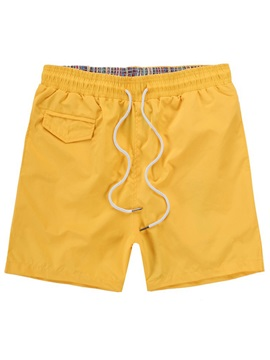 Tidebuy Plain Simple Style Mens Board Shorts