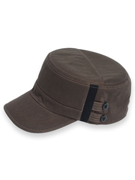 Plain Cotton Sunscreen Mens Mulitary Hat