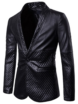 Tidebuy Notched Lapel Fit Mens Casual Blazer
